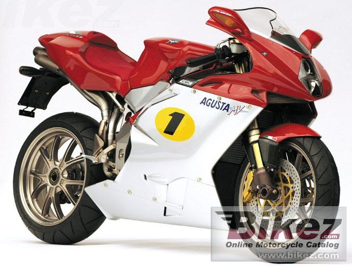 Big MV Agusta f4 ago picture and wallpaper from Bikez.com