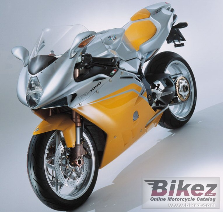 Big MV Agusta f4 1000 s picture and wallpaper from Bikez.com
