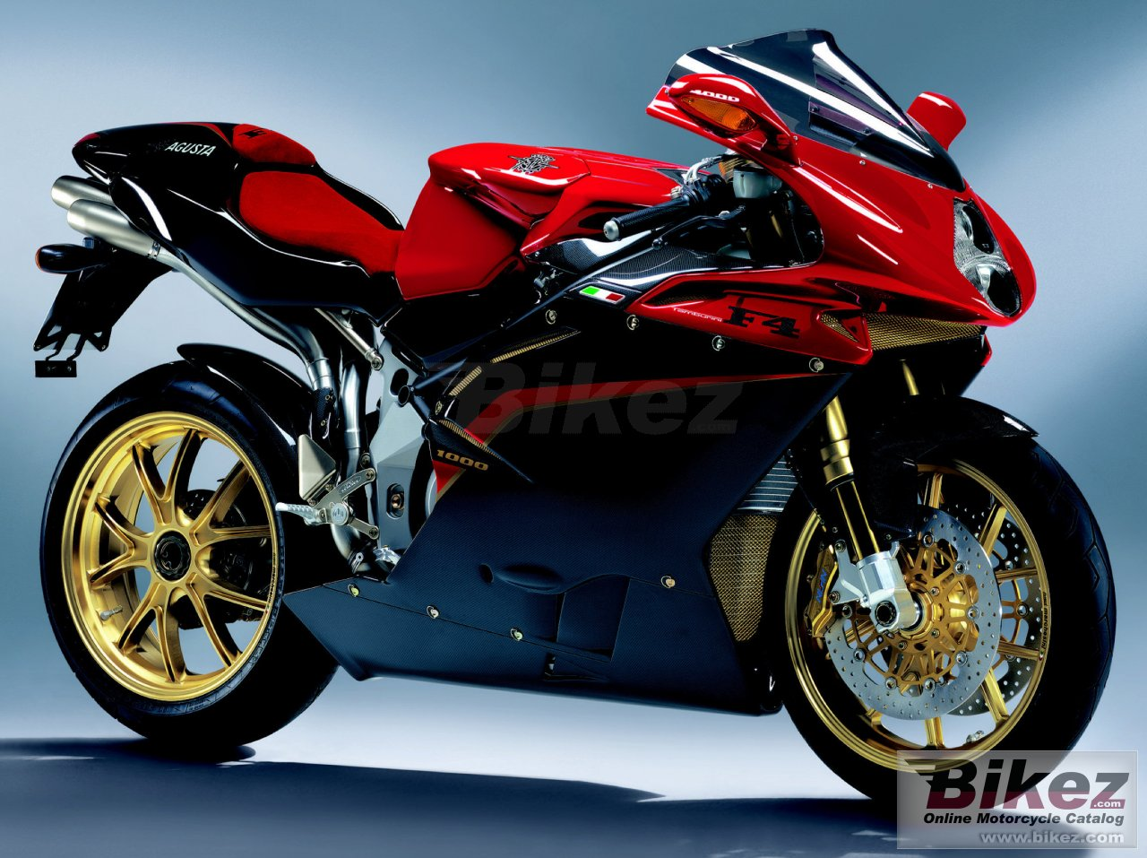 Big MV Agusta f4 tamburini picture and wallpaper from Bikez.com