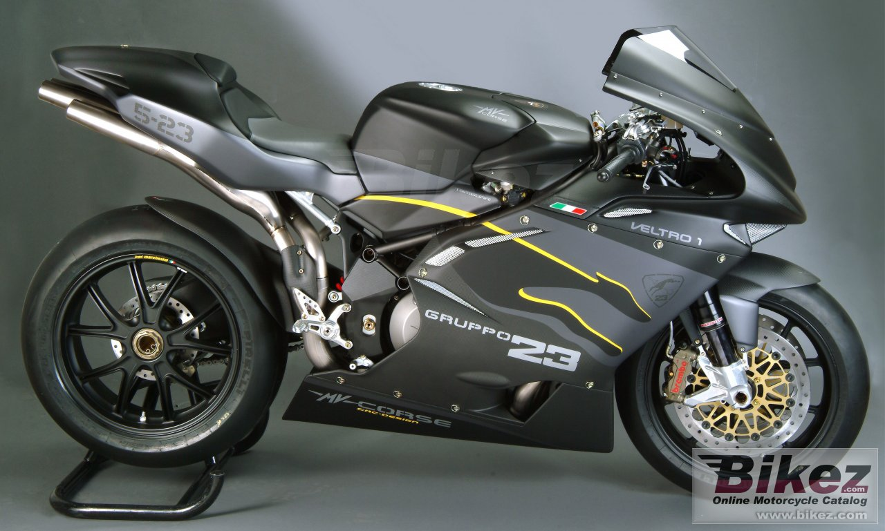 Big MV Agusta f4 1000 veltro pista picture and wallpaper from Bikez.com