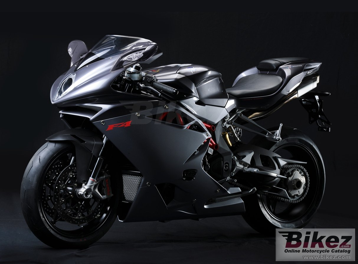 Big MV Agusta f4 picture and wallpaper from Bikez.com