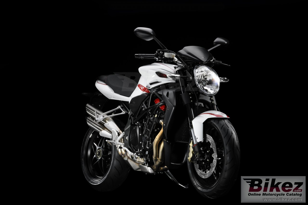 Big MV Agusta brutale r 1090 picture and wallpaper from Bikez.com
