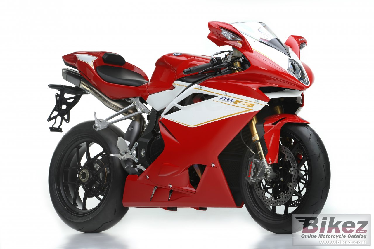 Big MV Agusta f4 rr picture and wallpaper from Bikez.com