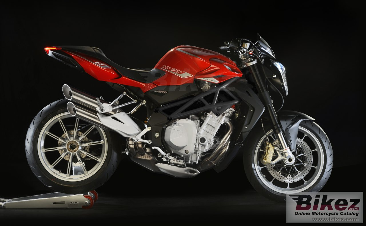 Big MV Agusta brutale 1090 r picture and wallpaper from Bikez.com