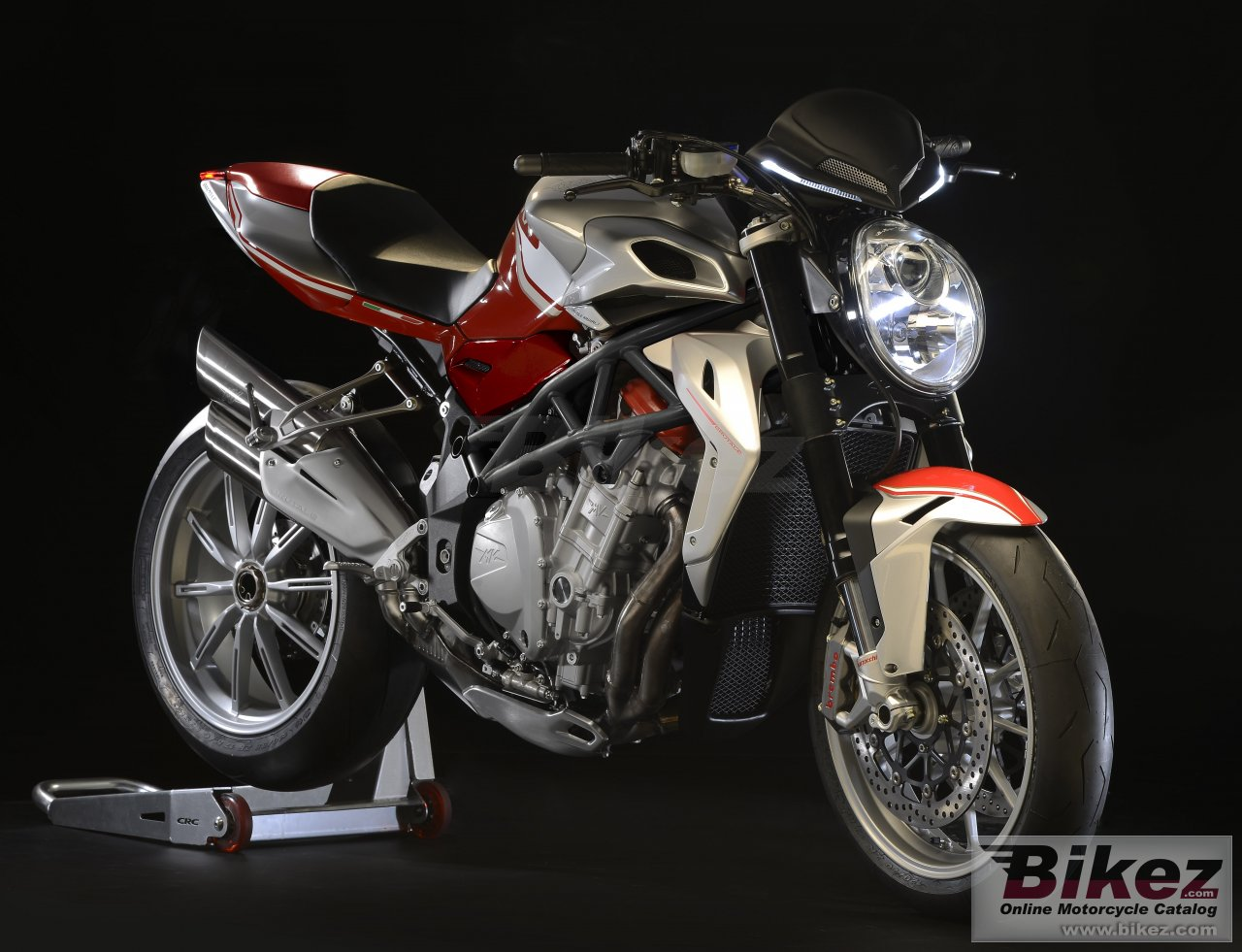 Big MV Agusta brutale 1090 rr picture and wallpaper from Bikez.com