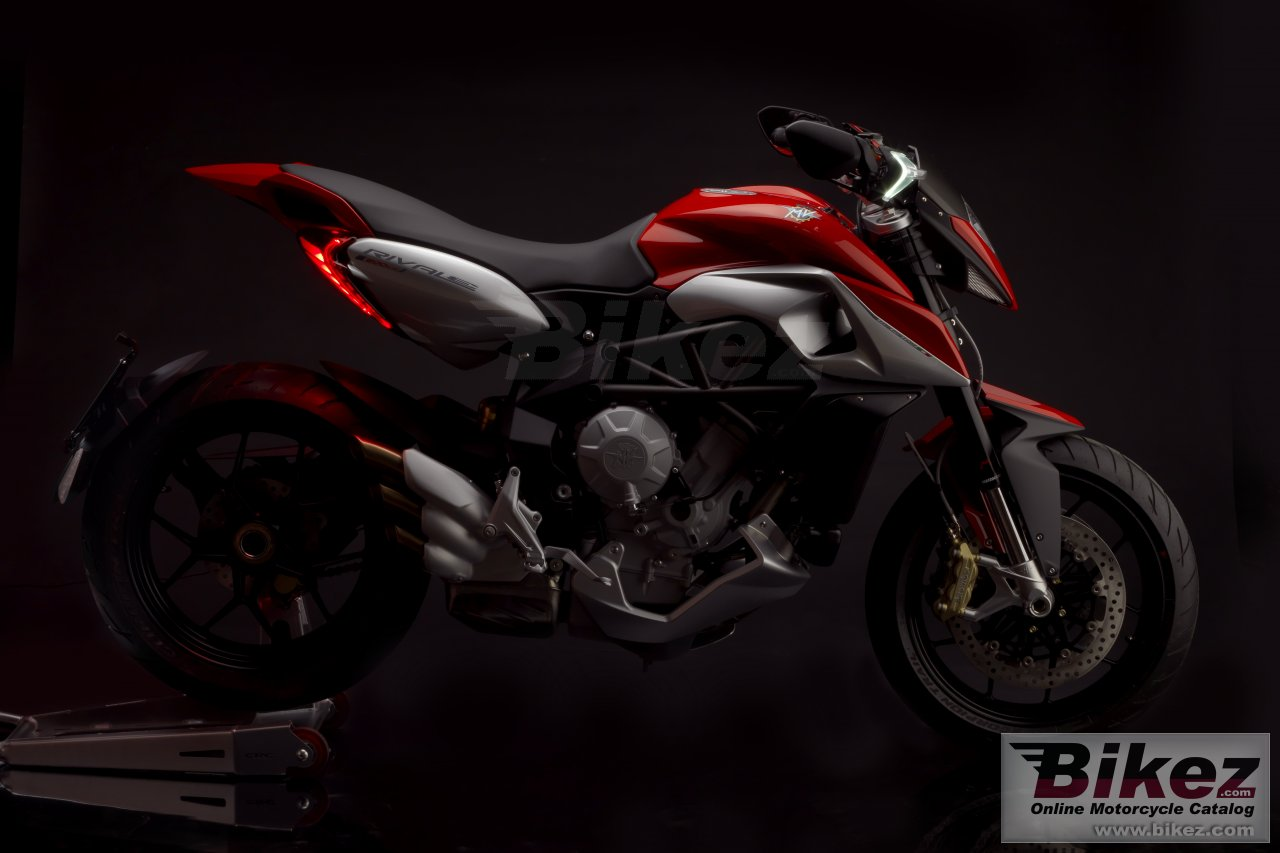 Big MV Agusta rivale 800 picture and wallpaper from Bikez.com