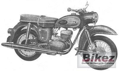 1965 MZ ES 250
