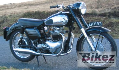 1958 Norton Dominator 77 specifications and pictures