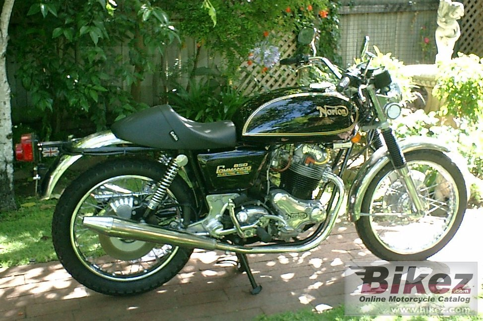 nymous user. commando 850 interstate mk 3