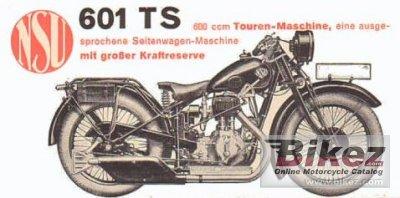 1930 NSU 601 TS