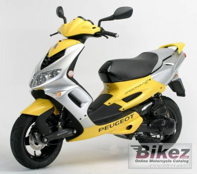 2007 Peugeot Speedfight 100 Advantage Specifications And