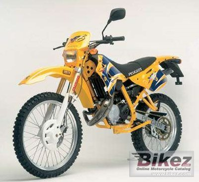 2008 Peugeot XP6 Enduro 50 photo