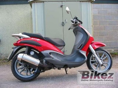 2005 piaggio b 125 specifications and pictures