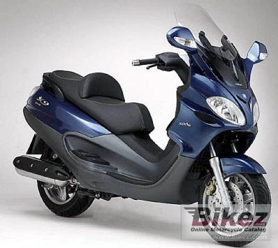 2005 piaggio x9 evolution 125 specifications and pictures