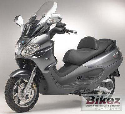 2005 piaggio x9 evolution 500 specifications and pictures