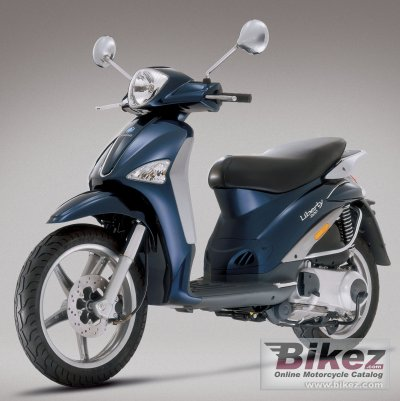 2006 piaggio liberty 200 specifications and pictures