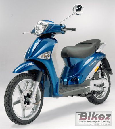 2006 piaggio liberty 50 2t specifications and pictures