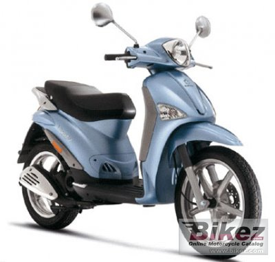 2007 Piaggio Liberty Catalyzed