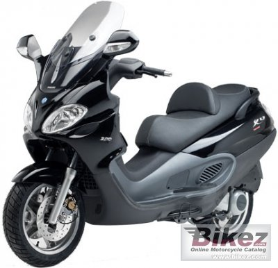 2007 piaggio x9 evolution 125 specifications and pictures