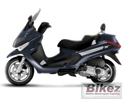 2008 Piaggio XEvo 125 photo