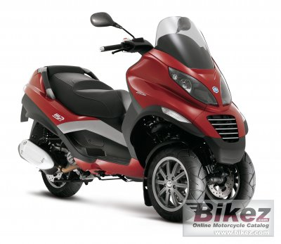 2008 piaggio mp3 250 specifications and pictures