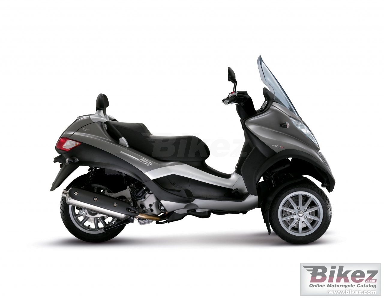 Big Piaggio mp3 lt 400 picture and wallpaper from Bikez.com