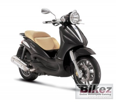 2011 piaggio beverly cruiser 500 specifications and pictures