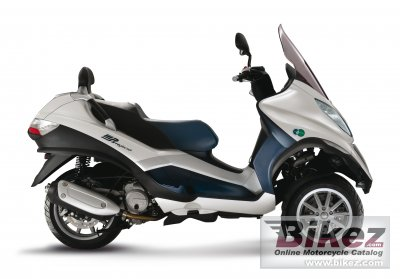2011 piaggio mp3 125 hybrid specifications and pictures