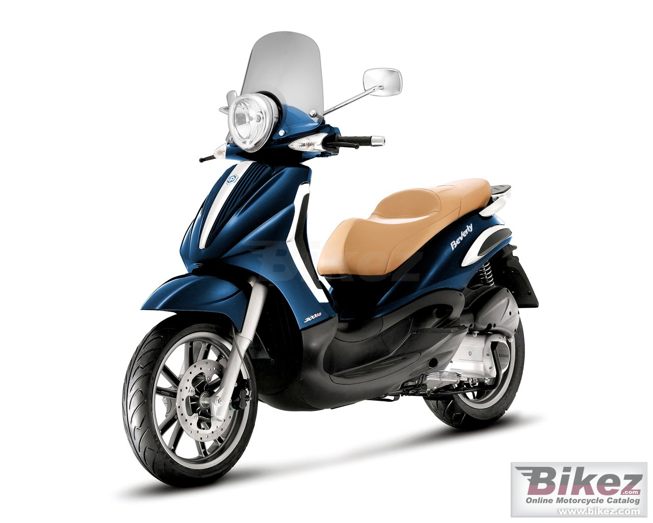 Big Piaggio bv tourer 300 picture and wallpaper from Bikez.com
