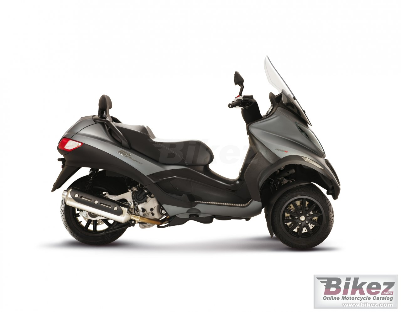 Big Piaggio mp3 sport 500 picture and wallpaper from Bikez.com