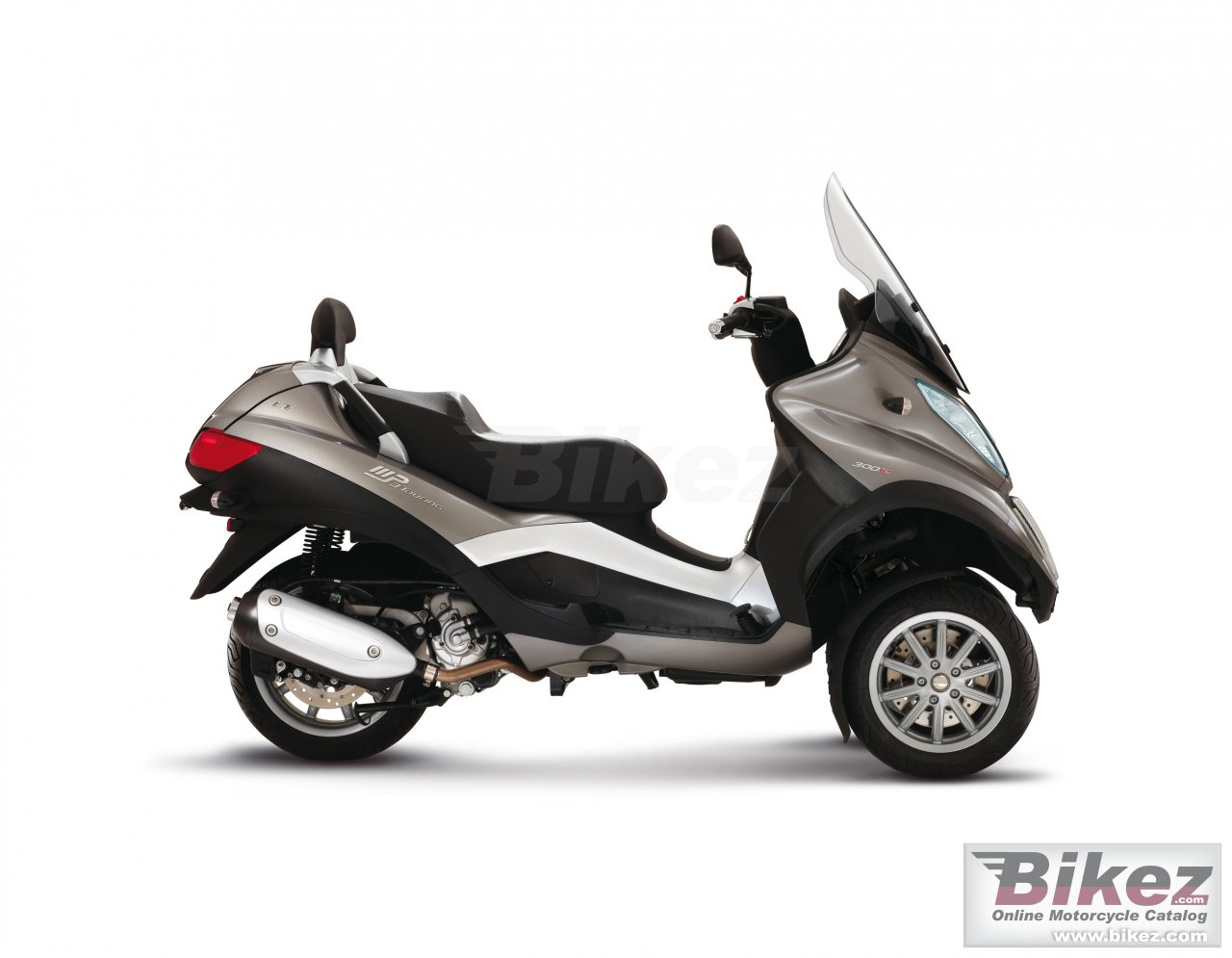Big Piaggio mp3 touring lt 300 picture and wallpaper from Bikez.com