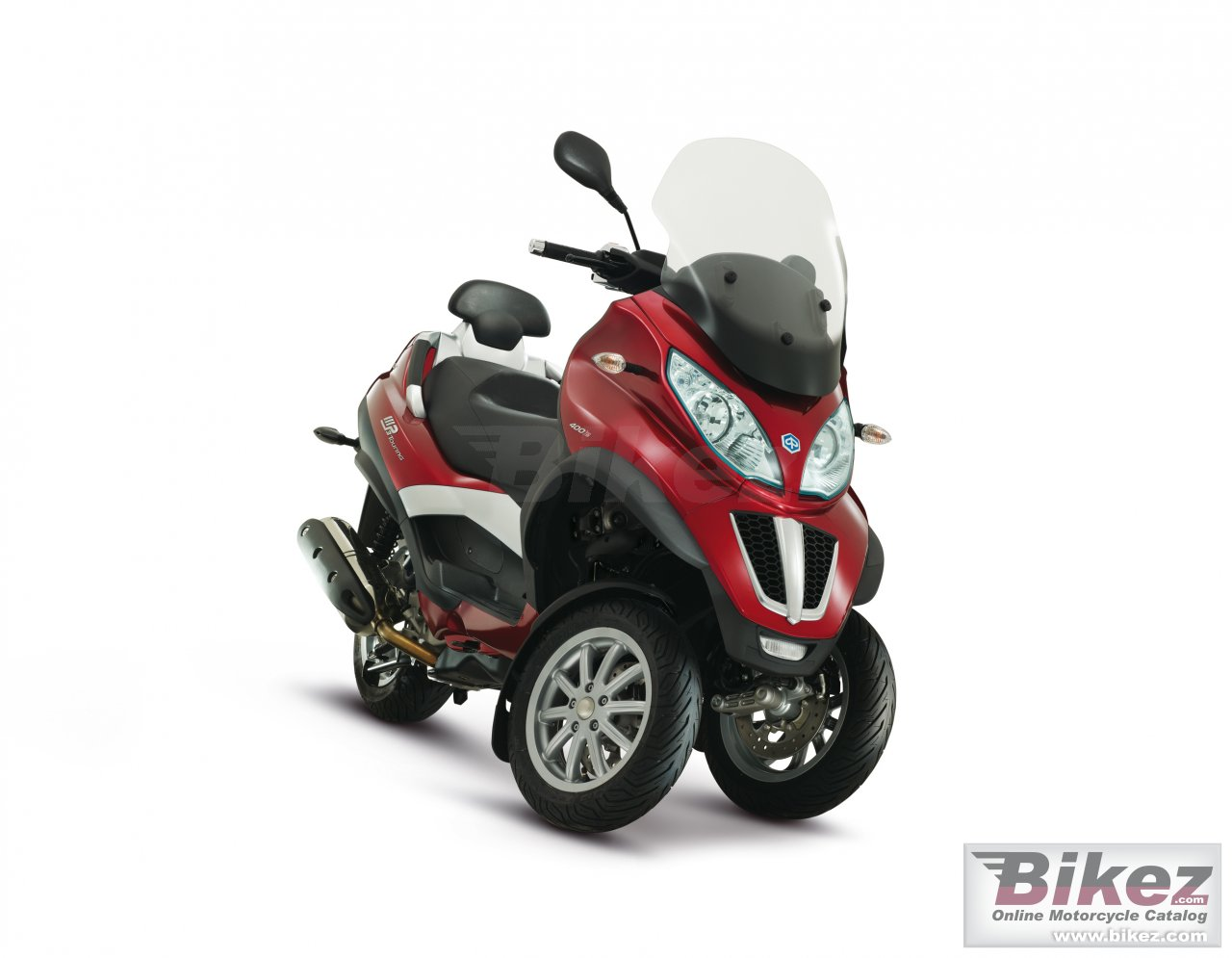 Big Piaggio mp3 touring lt 400 picture and wallpaper from Bikez.com