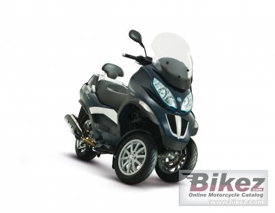 2012 piaggio mp3 400 specifications and pictures