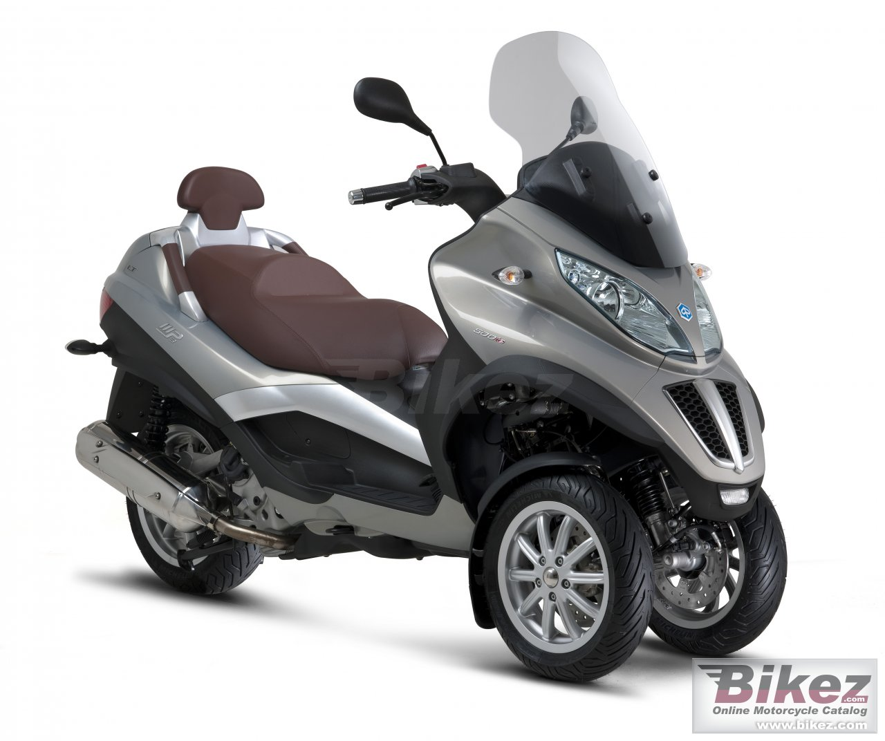 Big Piaggio mp3 500 picture and wallpaper from Bikez.com