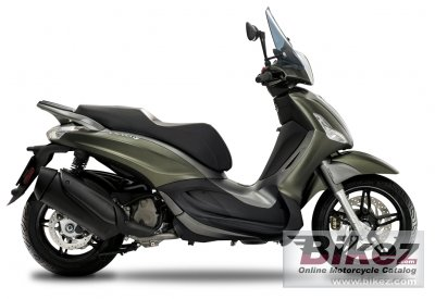 2020 Piaggio Berverly S  300 ABS ASR