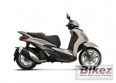 2021 Piaggio Beverly 300 hpe