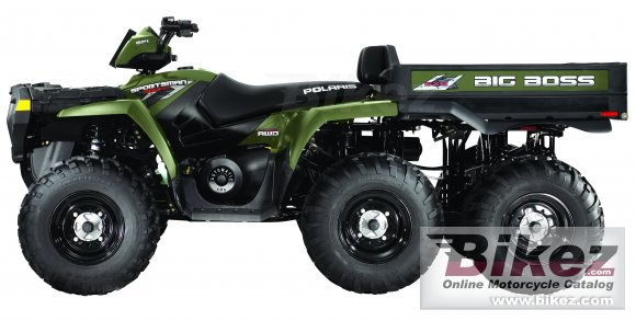 2010 Polaris Sportsman Big Boss 6x6 800
