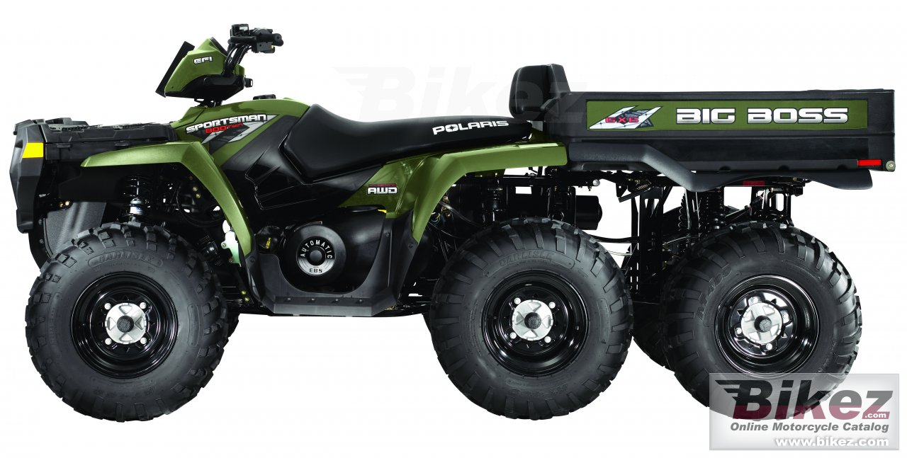 Big Polaris sportsman big boss 6x6 800 picture and wallpaper from Bikez.com