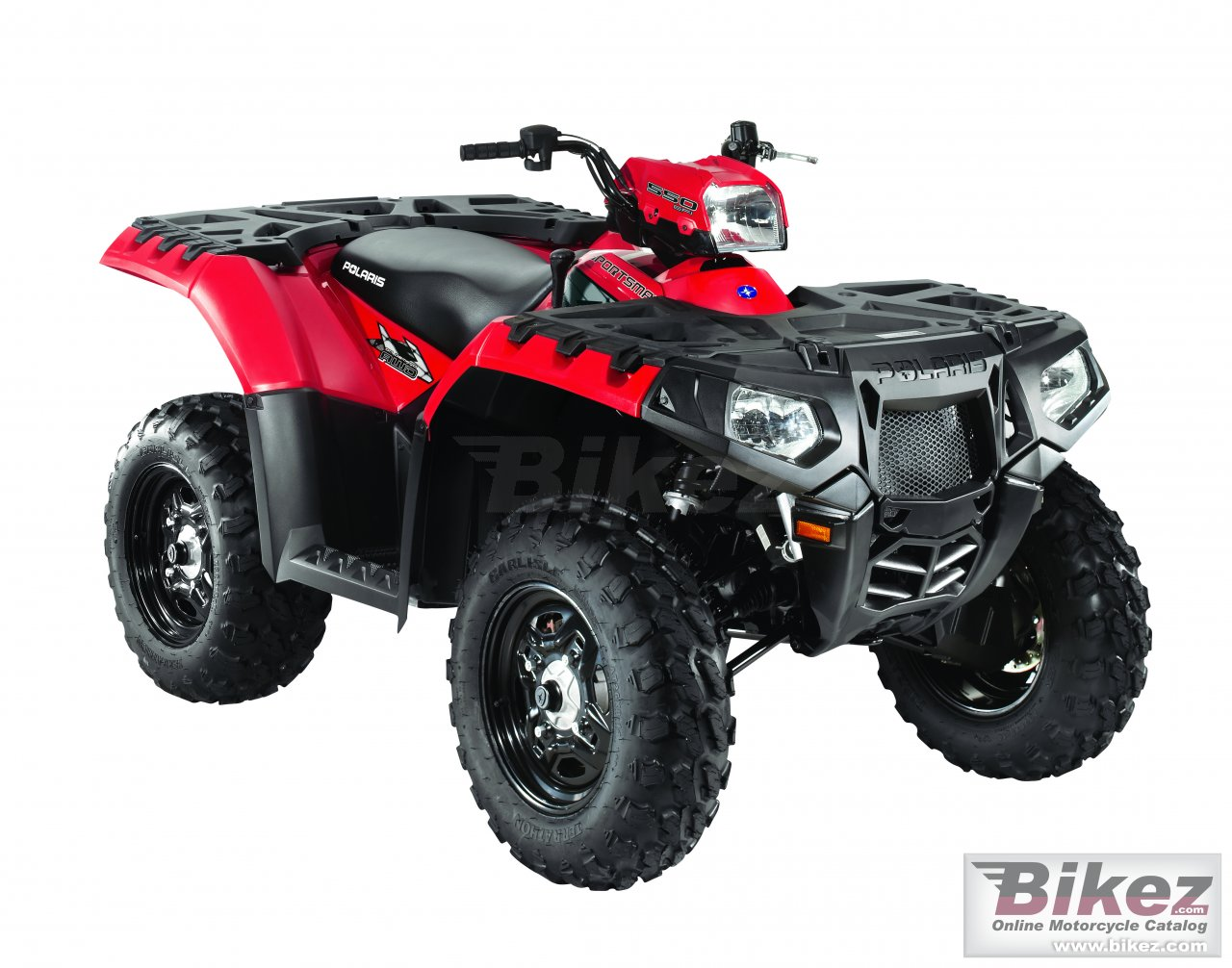 Big Polaris sportsman 550 picture and wallpaper from Bikez.com