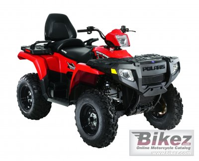 2010 Polaris Sportsman 500 HO Touring photo