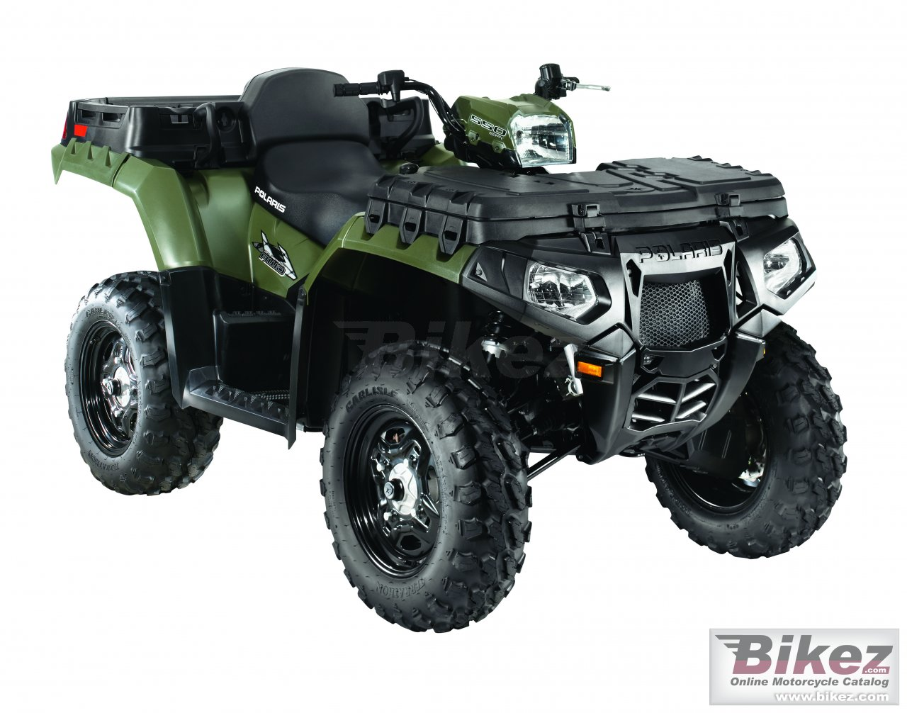 Big Polaris sportsman 550 x2 picture and wallpaper from Bikez.com