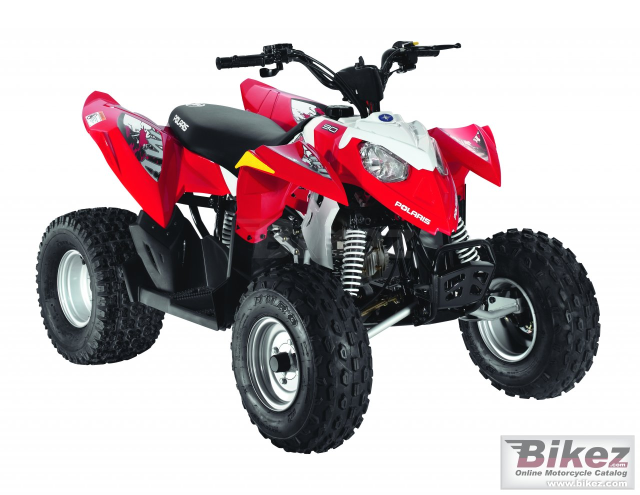 Big Polaris outlaw 90 picture and wallpaper from Bikez.com