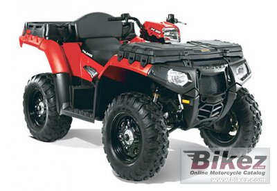 2011 Polaris Sportsman X2 550