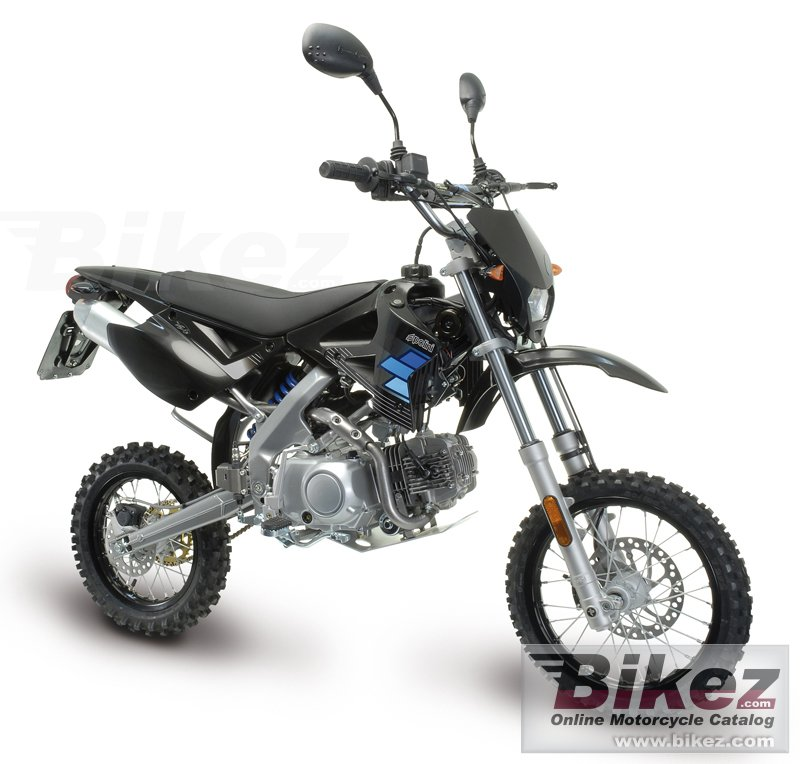 Big Polini xp4 street 125 off road picture and wallpaper from Bikez.com