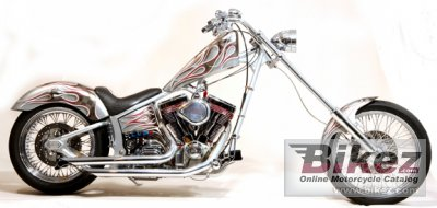 2009 Precision Cycle Works Detroit Chopper Softtail photo