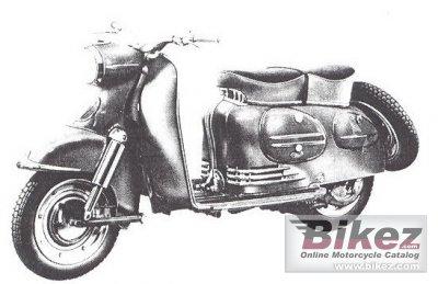 1960 Puch SRA 150