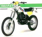 1985 Puch GS 560 F 4 T