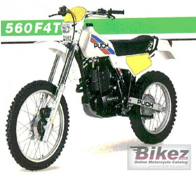 1985 Puch GS 560 F 4 T photo