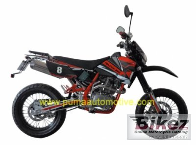 2011 Puma Falcon CR250i Motard