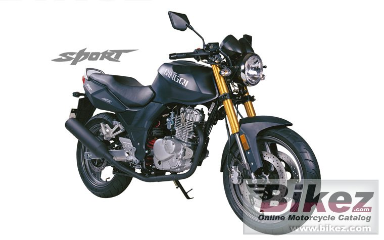 Big Qingqi sport qm125-2d picture and wallpaper from Bikez.com